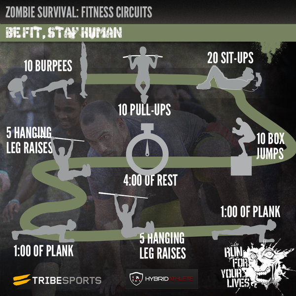 image Zombie apocalypse training with elizabeth bentley