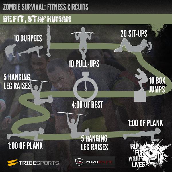 image Zombie apocalypse training with elizabeth bentley